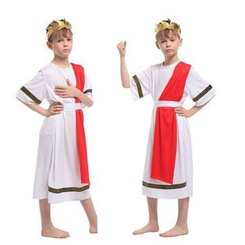 PEAPON Disfraces Children Halloween Carnival kids Greece Noble Egypt Prince of Rome Cosplay Movie Anime Fantasia Boy Party Costume