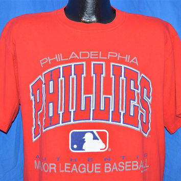 90s Philadelphia Phillies Major League Baseball t-shirt Large