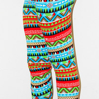 Under Pressure Geo Print Leggings