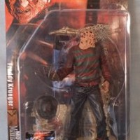 McFarlane - Movie Maniacs - Series 4 - A Nightmare on Elm Street - Freddy Krueger - 2nd Edition Feature Film Figure w/custom accessories by McFarlane Toys by Unknown