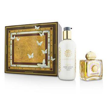 Amouage Fate Coffret: Eau De Parfum Spray 100ml/3.4oz + Body Lotion 300ml/10oz Ladies Fragrance