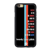 Twenty One Pilots Case for Iphone 6s, 21 Pilots Cover for Iphone 6/6s TPU Case