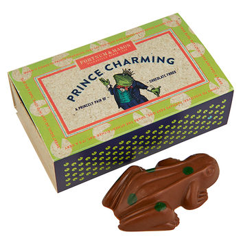 Fortnum and Mason - NEW - Prince Charming Chocolate Frogs