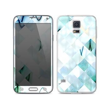 The Bright Highlighted Tile Pattern Skin For the Samsung Galaxy S5
