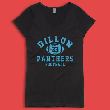Dillon Panthers Friday Night Lights Dillon Football Women'S V Neck
