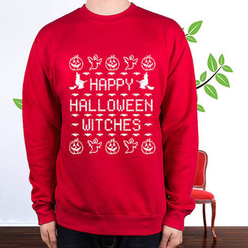 happy halloween witches sweatshirt , sweater , hoodie , pullover,  , crewneck for size s - 3xl