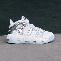 spbest NIKE - Women - W Air More Uptempo - White/Blue