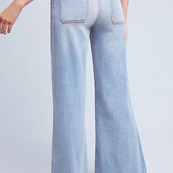 Pilcro Palazzo Ultra High-Rise Jeans