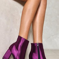 Moonlight Mile Satin Boot