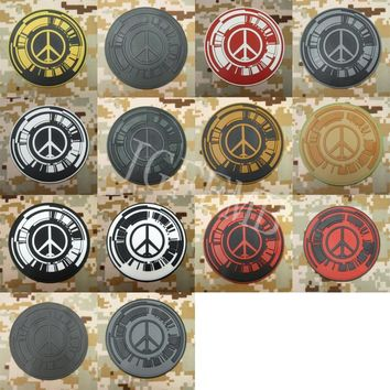 Metal Gear Solid MGS PEACE WALKER Special Force Group Tactical Military Morale 3D PVC patch 8cm*8cm