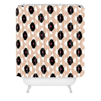Allyson Johnson iKat Class Shower Curtain