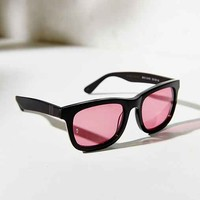 Wonderland Square Sunglasses- Black One