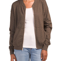 Made In Usa Bomber Jacket - Women - T.J.Maxx