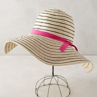 Mia Sun Hat by Anthropologie Black & White All Hats