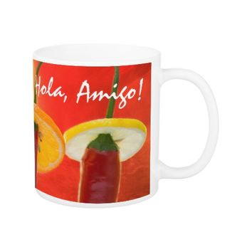 The Red, The Hot, The Chili Coffee Mug