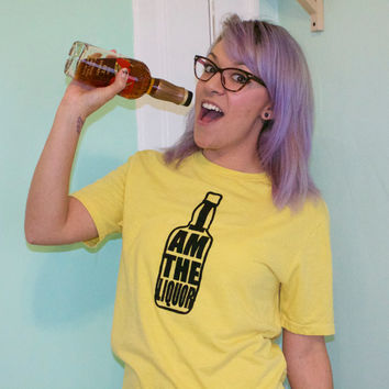 i am the liquor mr lahey bottle unisex shirt