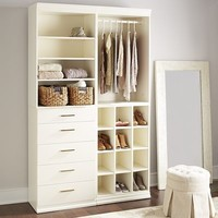 Madison Closet White Modular Storage Collection