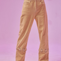 BLUEerror x Griffo Laced Corduroy Pants