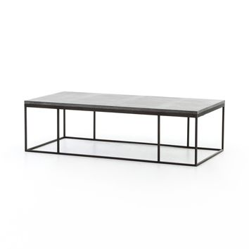 Brinley Small Coffee Table  Bluestone
