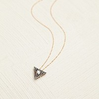Diamond Motif Necklace at Free People Clothing Boutique