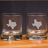 Texas Gameday Glassware