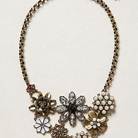 Anthropologie - Blossomed Collage Necklace