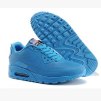 """""""NIKE"""" Women Popular Sneakers Breathable Running Sport Shoes blue"""