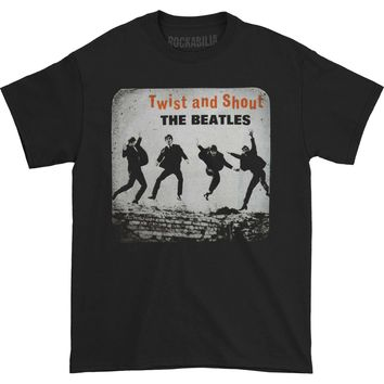 Beatles Men's  Twist & Shout T-shirt Black