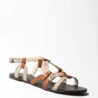 UrbanOutfitters.com > Kimchi Blue Mixed Loop Slingback Sandal