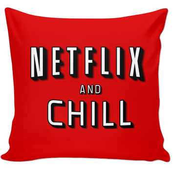 Netflix Nd Chill Pillow to match the Cover