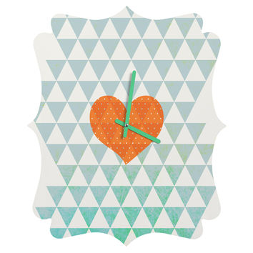 Hello Twiggs A Love Affair Quatrefoil Clock
