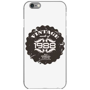 vintage made of 1988 all original parts iPhone 6/6s Case