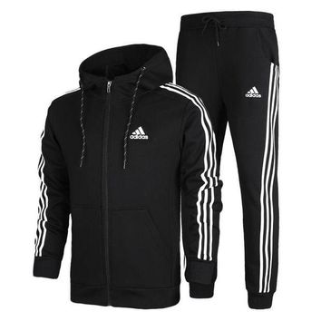 DCCKI72 Uunisex Adidas Casual Cotton Long Sleeve Plus Size Sportswear Set [103847755788]