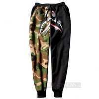 Indie Designs Shark Camo Jogger Pants