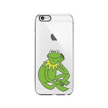 Kermit The Frog Transparent Silicone Plastic Phone Case for iphone 6 _ LOKIshop (iphone 6)