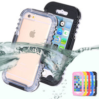 IP-68 Waterproof Heavy Duty Hybrid Swimming Dive Case For Apple iPhone 6 4.7inch 6S Water/Dirt/Shock Proof Phone Case For iPhone6