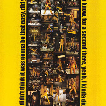 Kill Bill 2003 Movie Poster 24x36