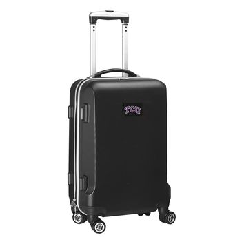 Texas Christian University Horned Frogs Luggage Carry-On  21in Hardcase Spinner 100% ABS