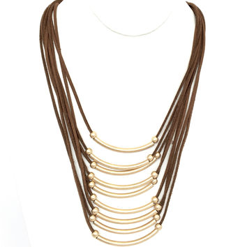 Cascade Layer Necklace