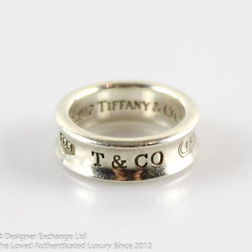 Tiffany And Co. 1837 925 Sterling Silver Ring