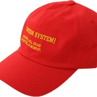 Embroidered Lettering Cap