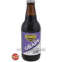 Hosmer Mountain Grape Soda 12oz Glass Bottle