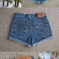 Levi High Waisted Shorts