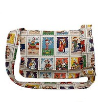 Hemet Loteria Cards Messenger Bag