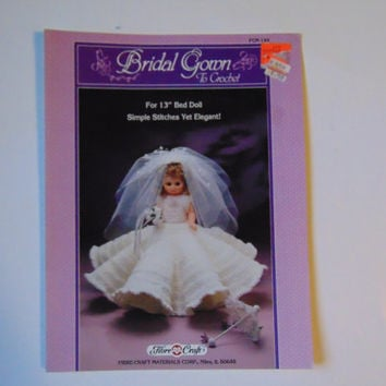 Bridal Gown to Crochet Fibre Craft FCM144