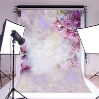 5x7ft Dreamlike Flowers Baby Photography Backgrounds Vinyl Photo Shoot Backdrops