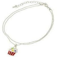 *[ANK]-Multi-Color Cupcake Charm Anklet
