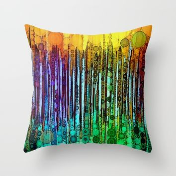 :: Cheers :: Throw Pillow by :: GaleStorm Artworks ::