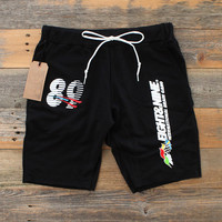 Daytona Cut Off Terry Shorts Black