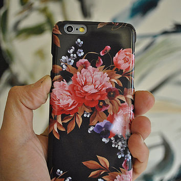 Floral iPhone 6 floral iPhone 6 Plus Case iPhone 5 Case iPhone 4s Case Samsung Galaxy S4 Case Samsung Galaxy S5 Case Samsung Galaxy S6 Case